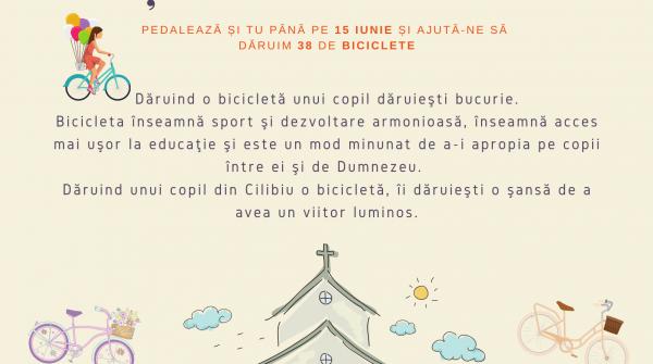 Iunie 2021: O bicicletă pentru trup, minte și suflet